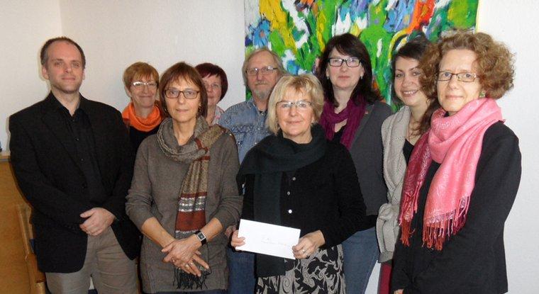 Spendenübergabe beim Ortsverein Hildesheim