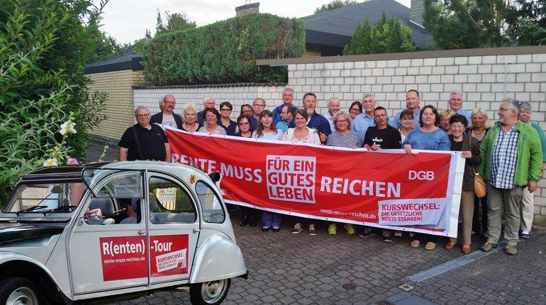 Ortsverein Lehrte/Sehnde: Radeln für eine gute Rente