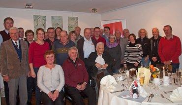 Jubilarehrung 2016 des Ortsverein Uelzen