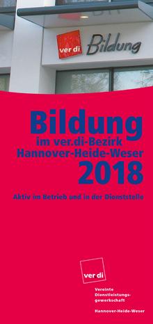 Bildungsprogramm 2018 des Bezirk Hannover-Heide-Weser