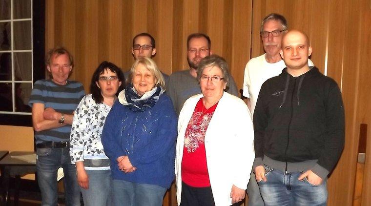 Vorstand des Ortsverein Wunstorf