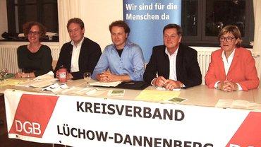 """DGB Veranstaltung """"Podiumsdiskussion zur Bundestagswahl 2017"""""""