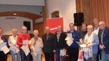 Jubilarehrung 2018 des Ortsverein Schaumburg am 23.11.2018 in Stadthagen