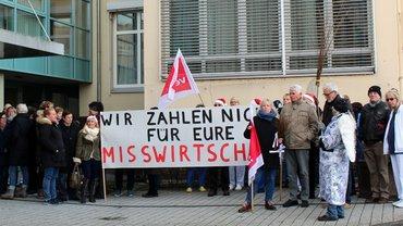 ver.di Protestaktion im AKH Celle