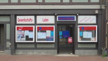 Der ver.di Laden in Lüchow