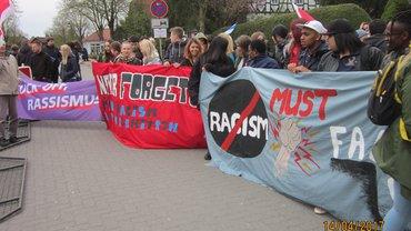 Proteste gegen die Ludendorffer