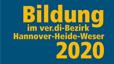 Bildungsprogramm 2020 des Bezirk Hannover-Heide-Weser