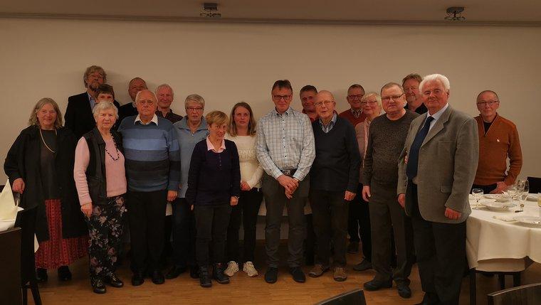 Jubilarehrung 2019 des Ortsverein Uelzen am 01.11.2019