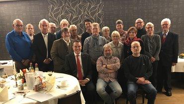 Jubilarehrung 2017 des Ortsverein Uelzen am 16.11.2018