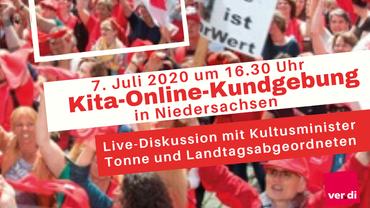 Online-Kita-Kundgebung am 07. Juli 2020 um 16.30 Uhr