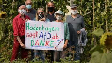 Hodenhagen sagt AfD ab - DANKE