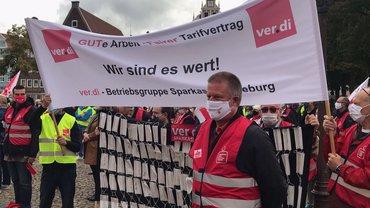Wir sind es wert! Streiktag in Lüneburg am 25.09.2020