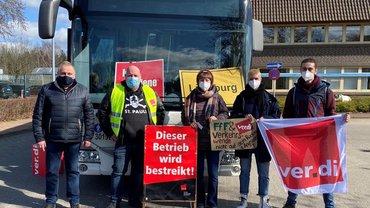 ÖPNV-Streiks im Bezirk