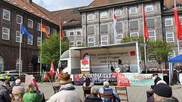 DGB Maikundgebung auf den Lehrter Rathausplatz